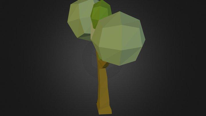 arbre grossier 3D Model