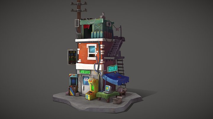 Home game 3D Model