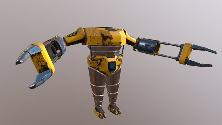 Power Loader Armour 3D Model