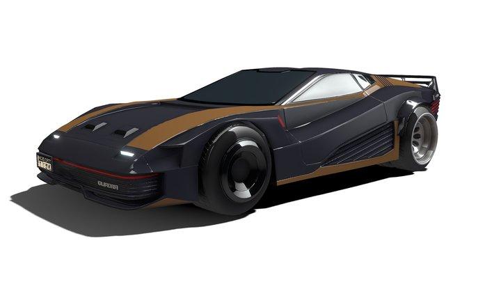 Cyberpunk 2077 - Quadra V-Tech 3D Model