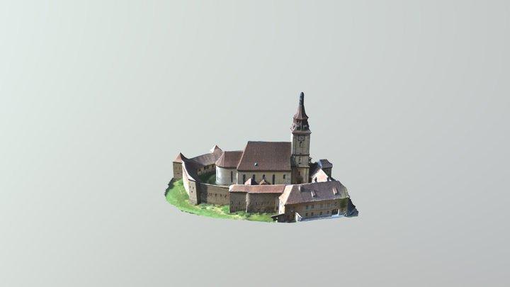 Sanpetru fortified church 3D Model