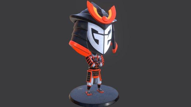 G2 Samurai 3D Model