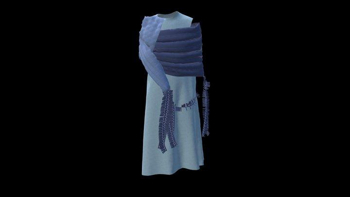 Dnipro Project Dress 4 3D Model