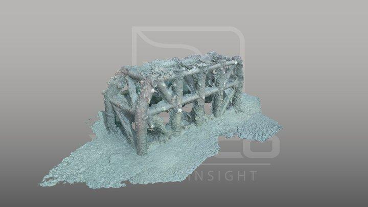 Breakwater fort 3D Model