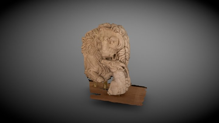 Scultura di età romana (III Sec. d.C.) 3D Model
