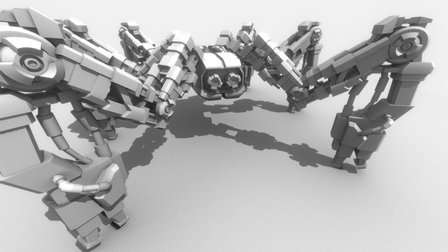 Spider robot thing 3D Model