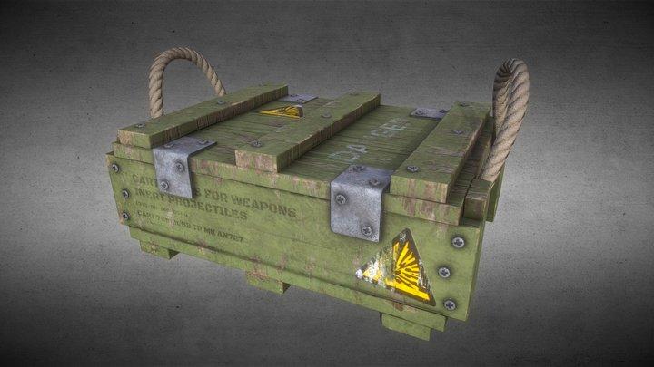 Ammo Crate 3D Model