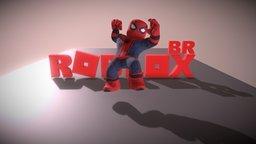 SPIDERMAN ROBLOX 3D Model