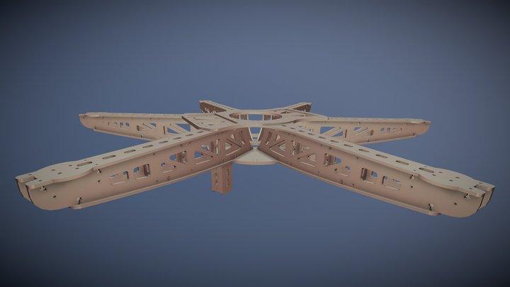 Dronecoria Frame 0.4 3D Model