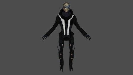 Garrus (Formal Wear) 3D Model