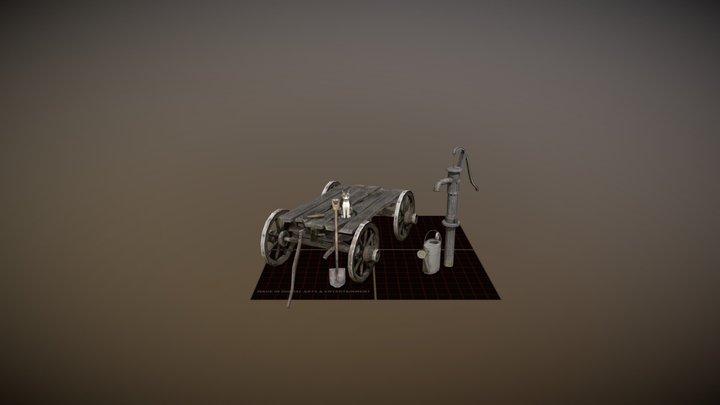 1GGP03E_TomPauwaert_5props 3D Model