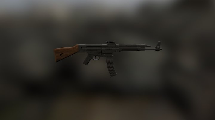 Texture for The Edge's MP44 3D Model