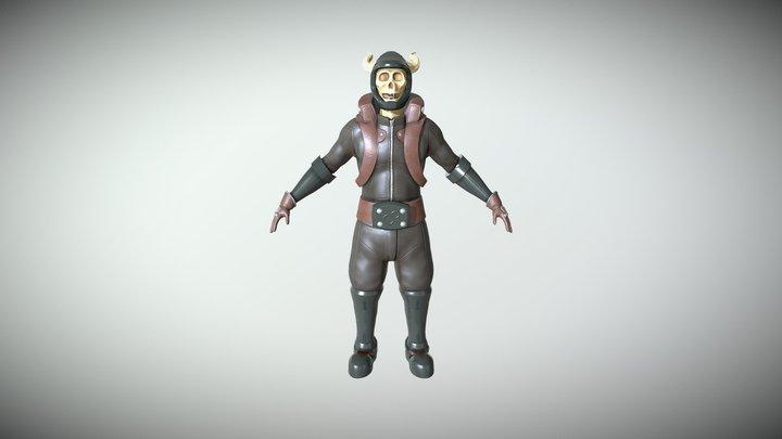 Rider 3D Model