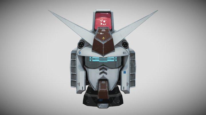 Head_RX_78_01 3D Model