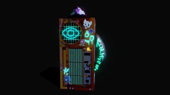 VendingMachine 3D Model