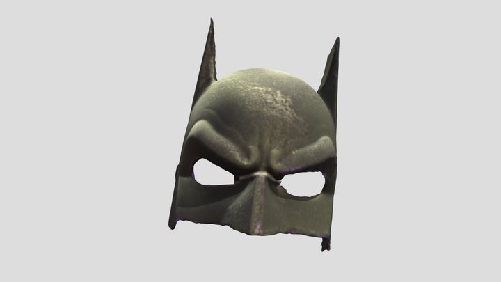 Batman Mask 3D Model