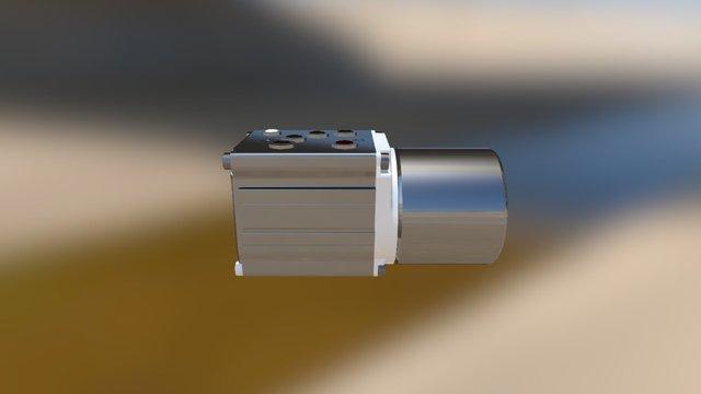 Roller Test With Blender Again 3D Model