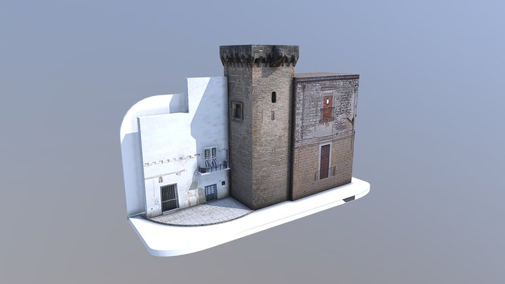 Torre Normanna di Canneto - Adelfia (BA) 3D Model