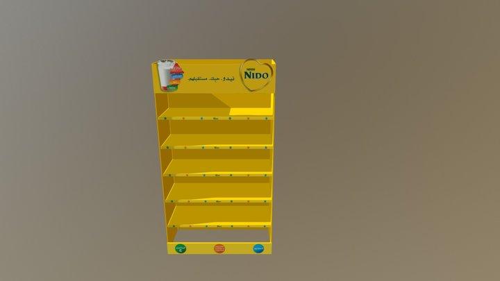 NIDO Gondola Int 001 3D Model