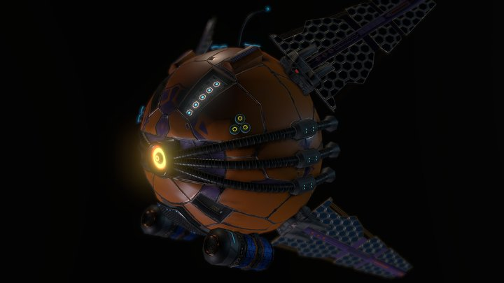 Eye Droid 3D Model