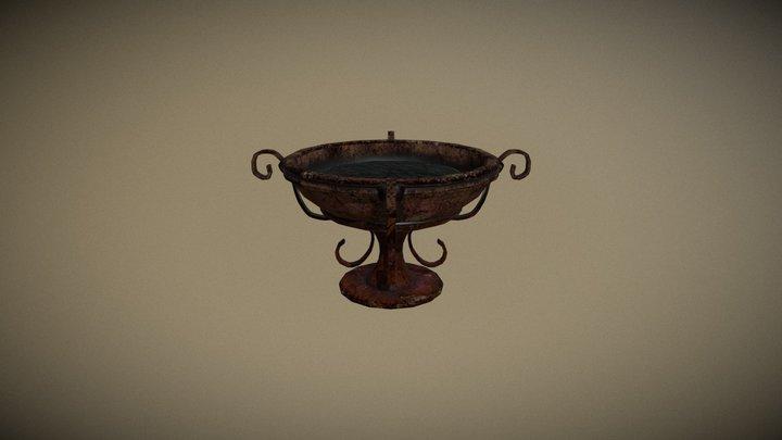 Roman fire_cup 3D Model