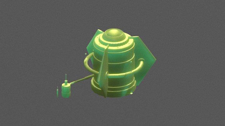 V.E.P. X: Nuclear Power Plant 3D Model