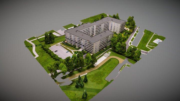 2020-04-08 Makieta EuroStyl Osiedle Cis 3D Model