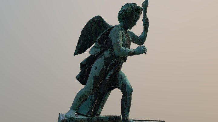 Engel Statue 3D Model