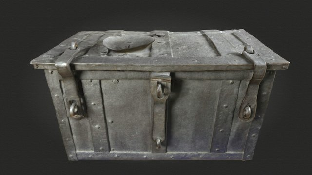 Ablasstruhe / Indulgence Chest 3D Model
