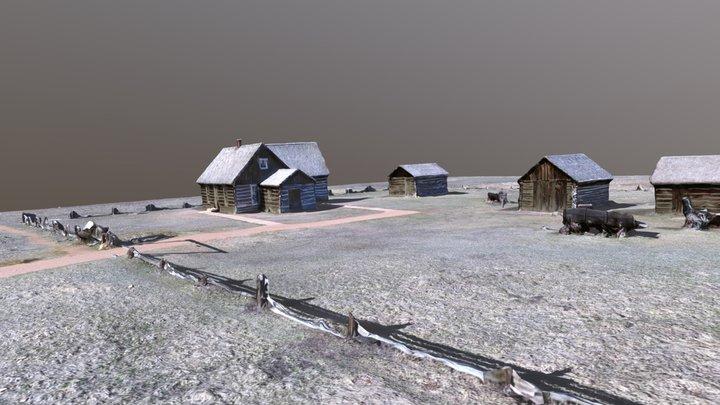 Hornbek Homestead 3D Model