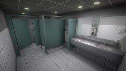 The Restroom 3D Model