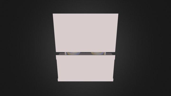 Boceto mueble de baño 3D Model