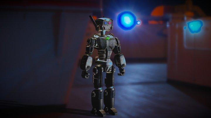 Cyberpunk: ACU-1 (Autonomous Cybernetic Unit) 3D Model