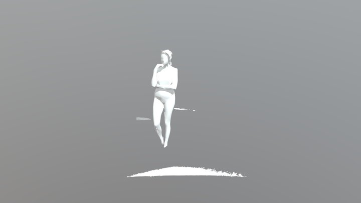 Scannering body by Kinect 3D Model