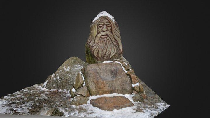 Mountain Ghost 3D Model