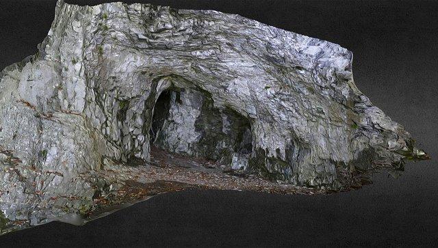 Heidentempel - Lower level of the cave 3D Model