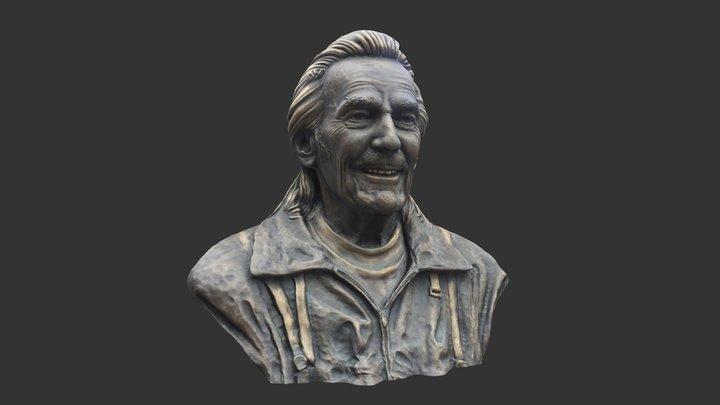 Gordon Lightfoot model of Bronze Bust 3D Model