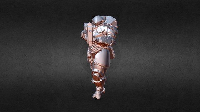 Merged Weapons-MG2ziptest 3D Model