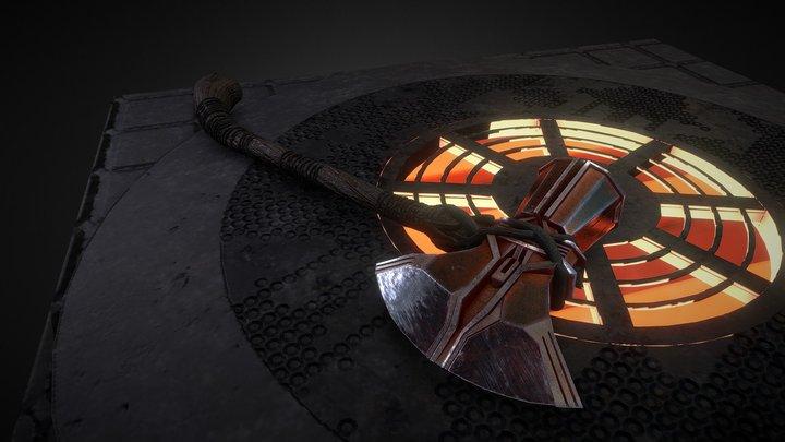 StormBreaker Thor's Fan Art 3D Model