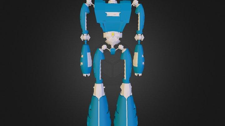 Junior_VFX_Project - Robot_Tutorial 3D Model