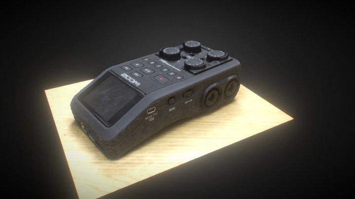 Zoom H6 3D-Scan Test 3D Model