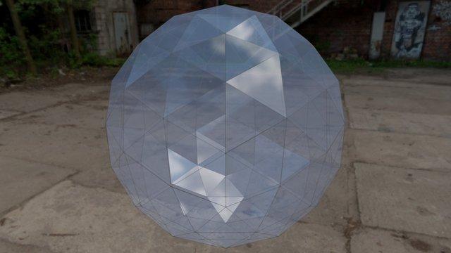 Geodesic sphere 3D Model