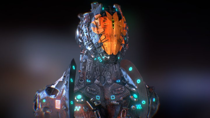 BOT MACHINE Z20 By Osca creativo 3D Model