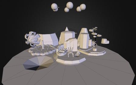 SoA_diorama_01.obj 3D Model