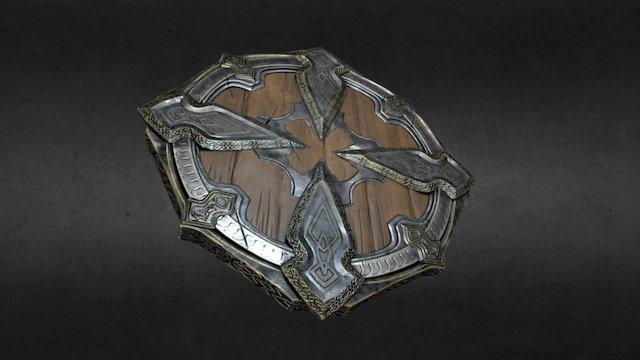 Viking elite shield 3D Model