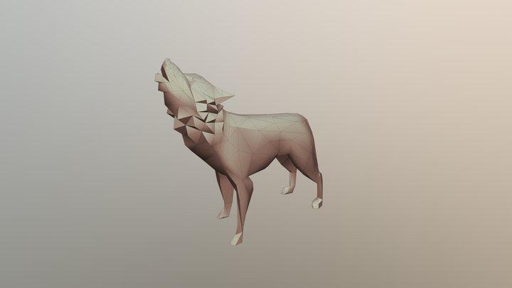 Wolf Export 02 3D Model