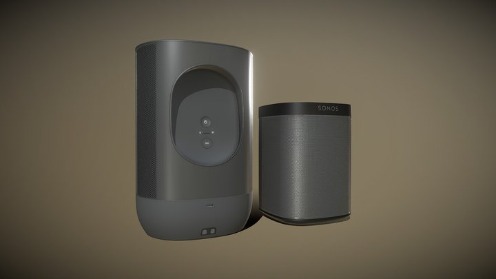 Sonos Move Speaker 3D Model