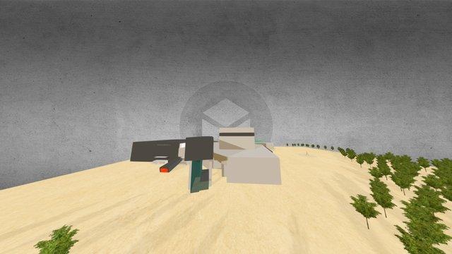 Festspielhaus Bregenz [VR] 3D Model