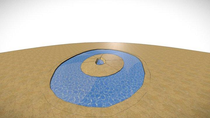 DESERT/OASIS/ISLAND 3D Model