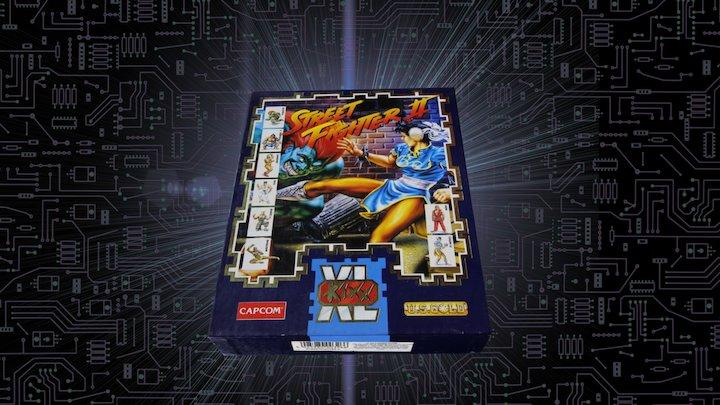 Street Fighter II  // XL KIXX - PC CD-ROM - 1991 3D Model